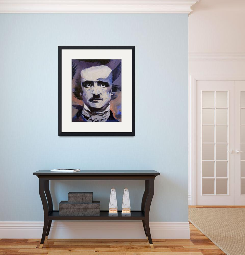 """Edgar Allan Poe&quot  by creese"