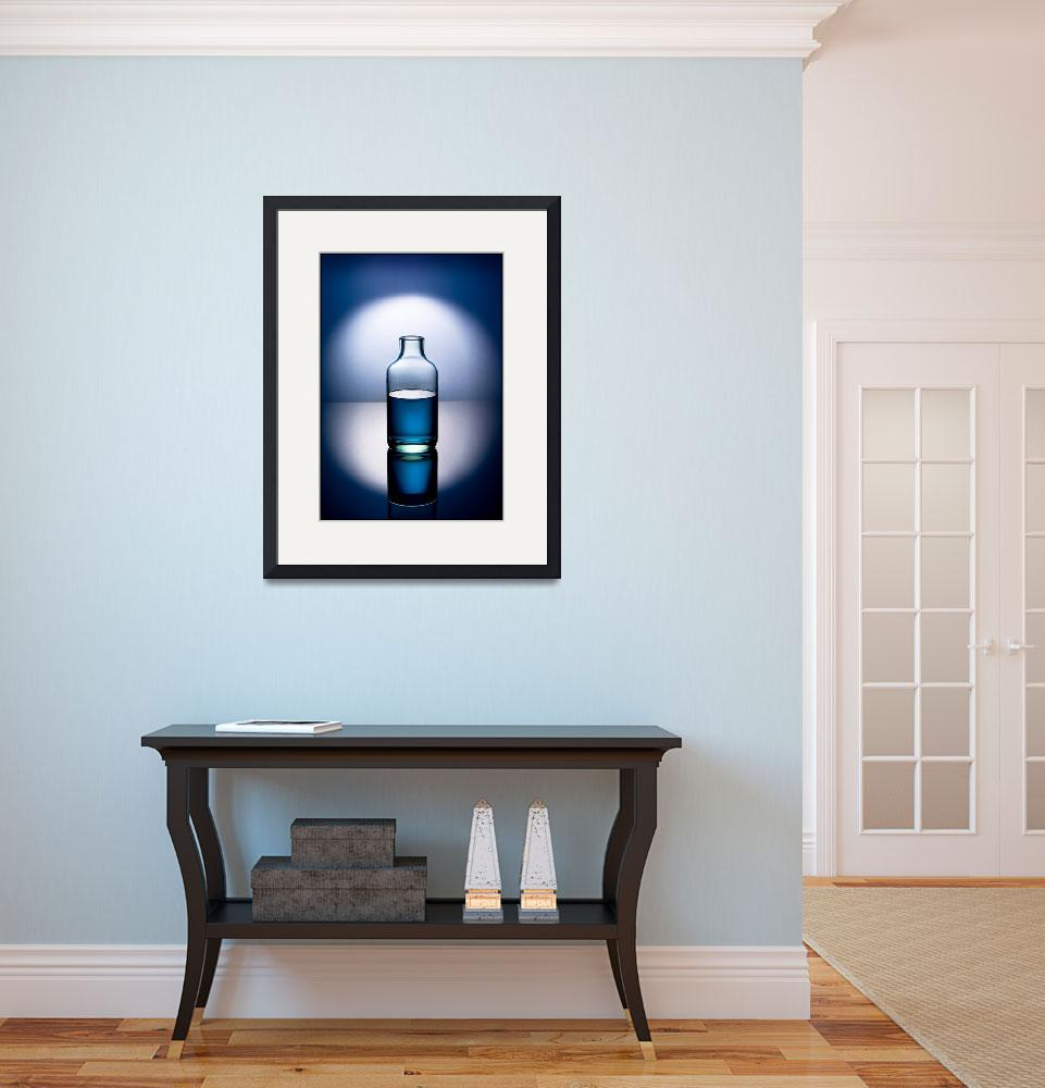"""Blue bottle&quot  (2008) by rtphotography"