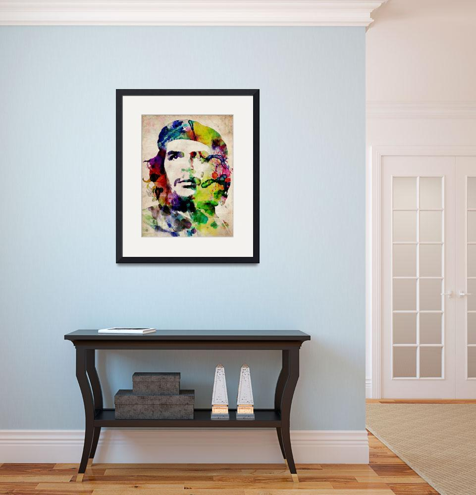 """Che Guevara Urban Art&quot  (2009) by ModernArtPrints"