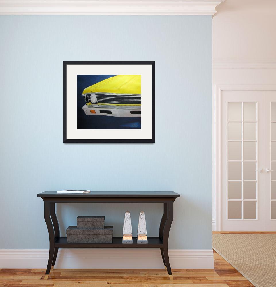 """Yellow Nova&quot  (2010) by Gaylecaldwell888"