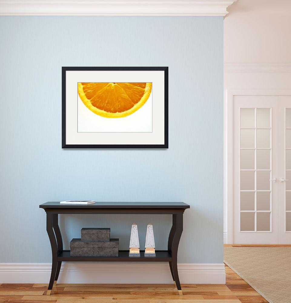 """A Slice Of Orange&quot  by gallery"
