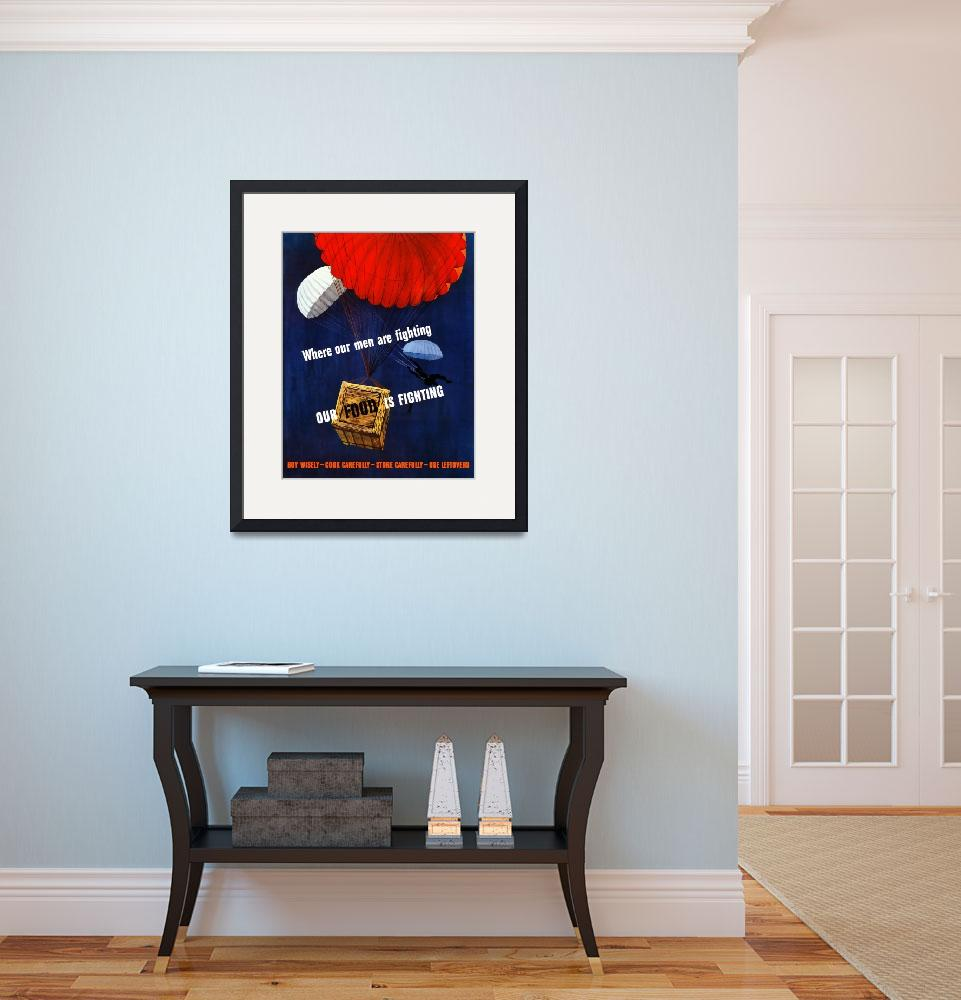 """Digitally restored vector war propaganda poster. W&quot  by stocktrekimages"