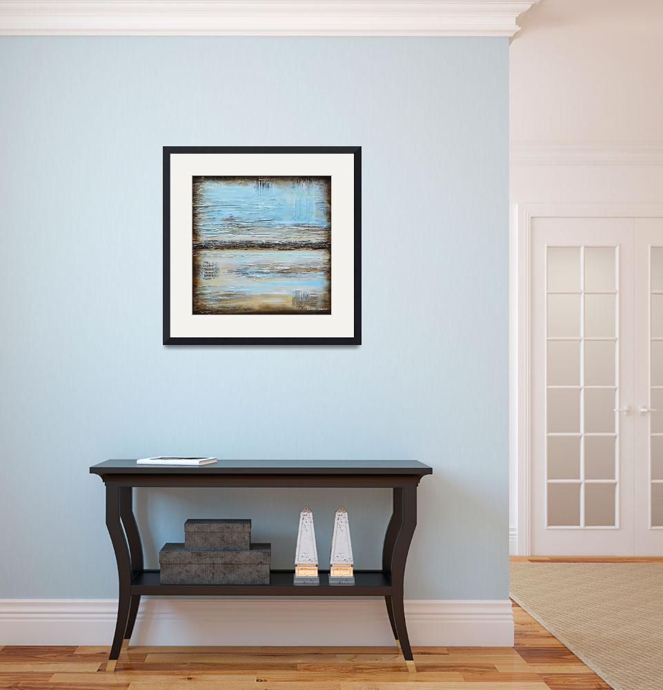 """""Blue Serenity""&quot  (2014) by ChristineKrainock"