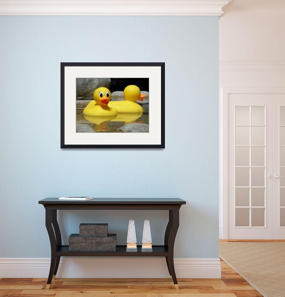 """Rubber Duckies&quot  (2010) by lainiewrightson"