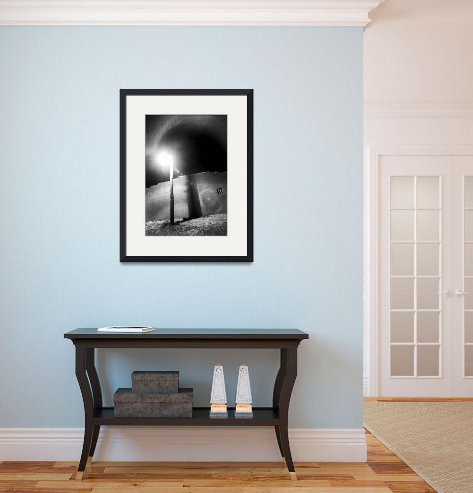 """walllight1bw&quot  (2003) by ssmiley1"