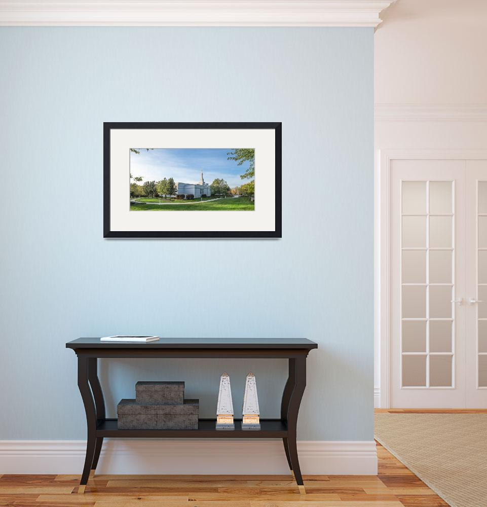 """Panoramic View of Palmyra Temple&quot  (2015) by dbwalton"