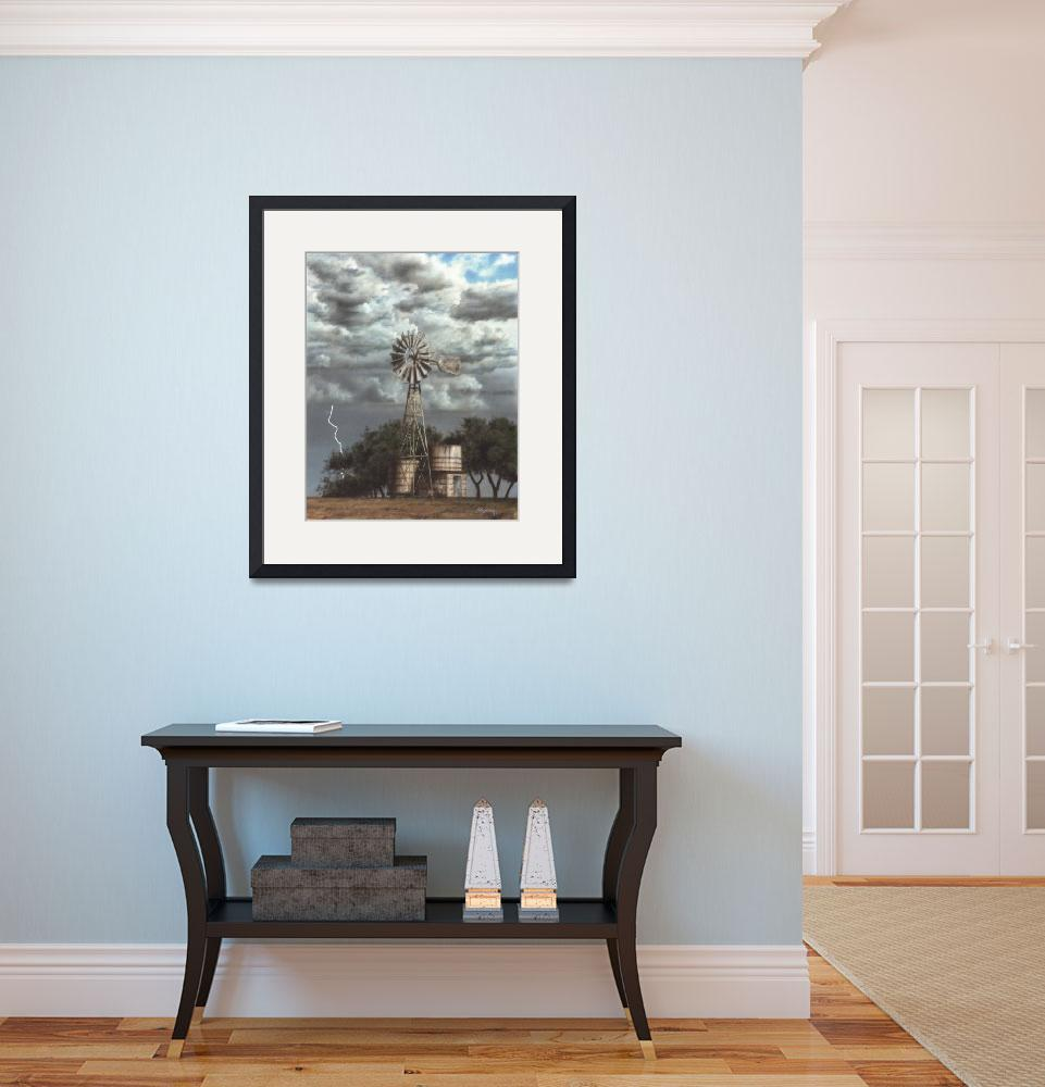 """Fredericksburg Windmill Lightning&quot  (1983) by halstanford"