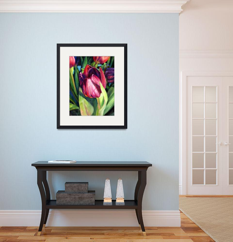 """Tulip Delight&quot  (2013) by HaileyWatermedia"