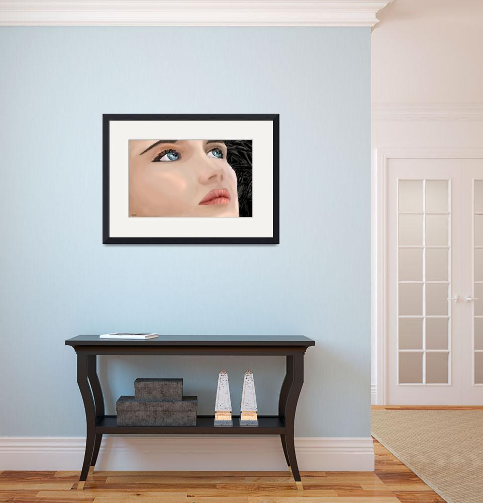 """Isabelle Adjani&quot  (2006) by Antxx"