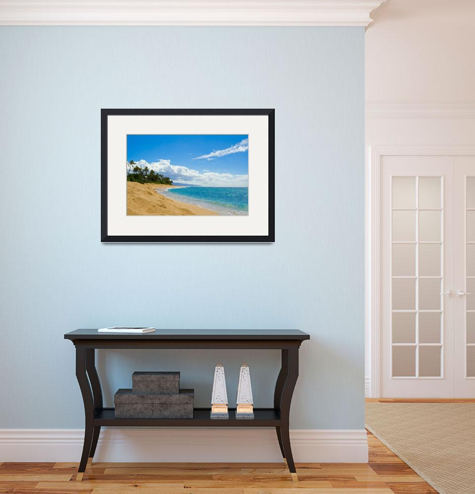 """Sunset Beach&quot  (2007) by chesman"