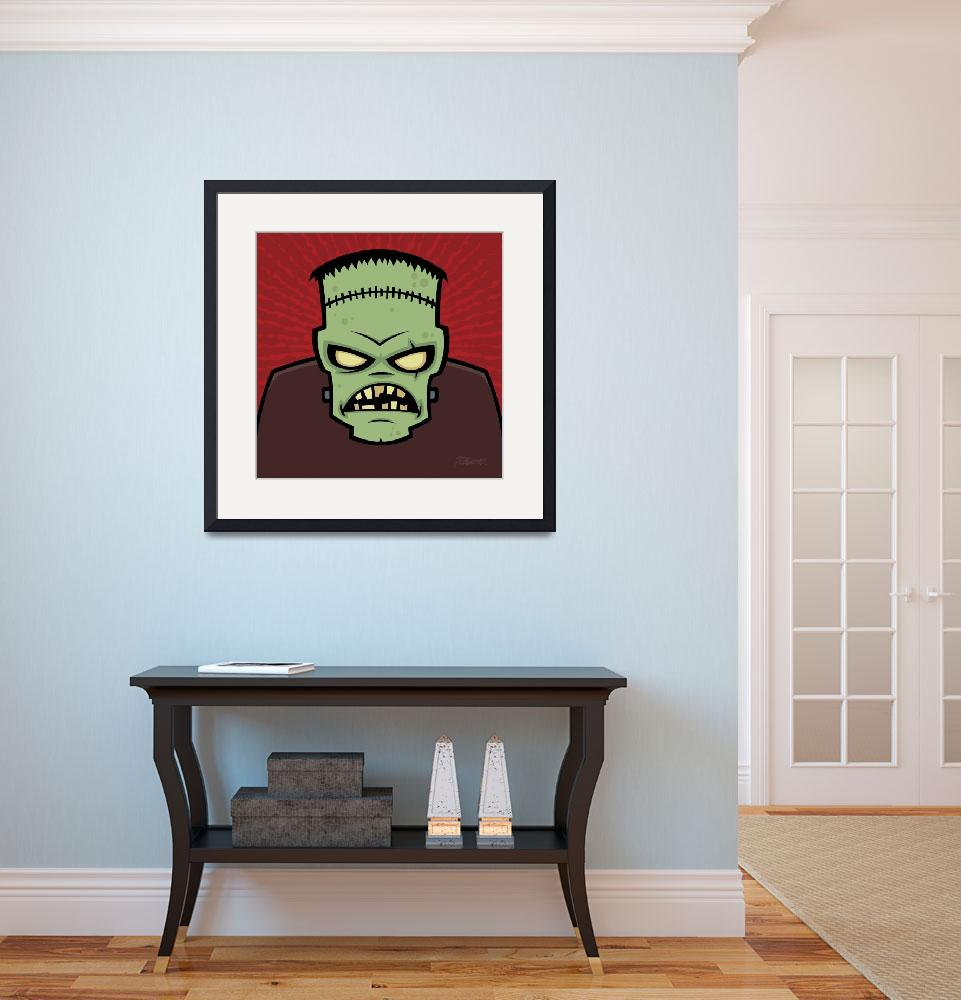 """Frankenstein Monster&quot  (2010) by schwegel"