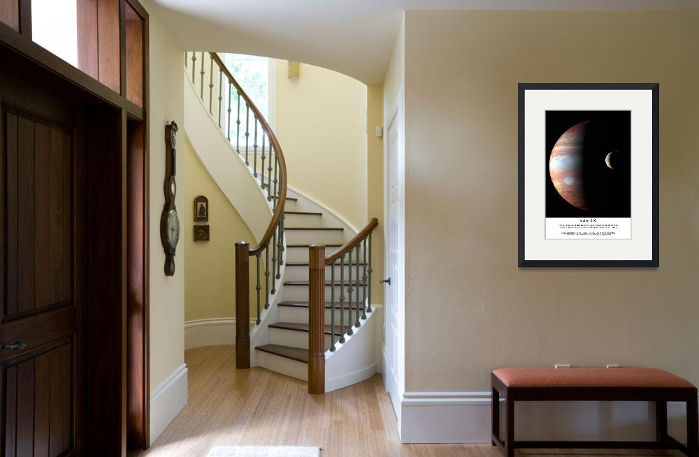 """Jupiter IO Gallery Wrap&quot  (2012) by SouthIdahoPhoto"