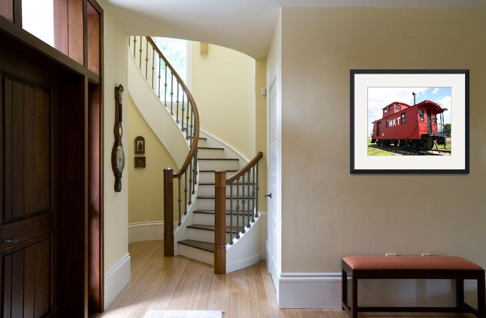 """Old Red Caboose&quot  (2009) by dlstein"