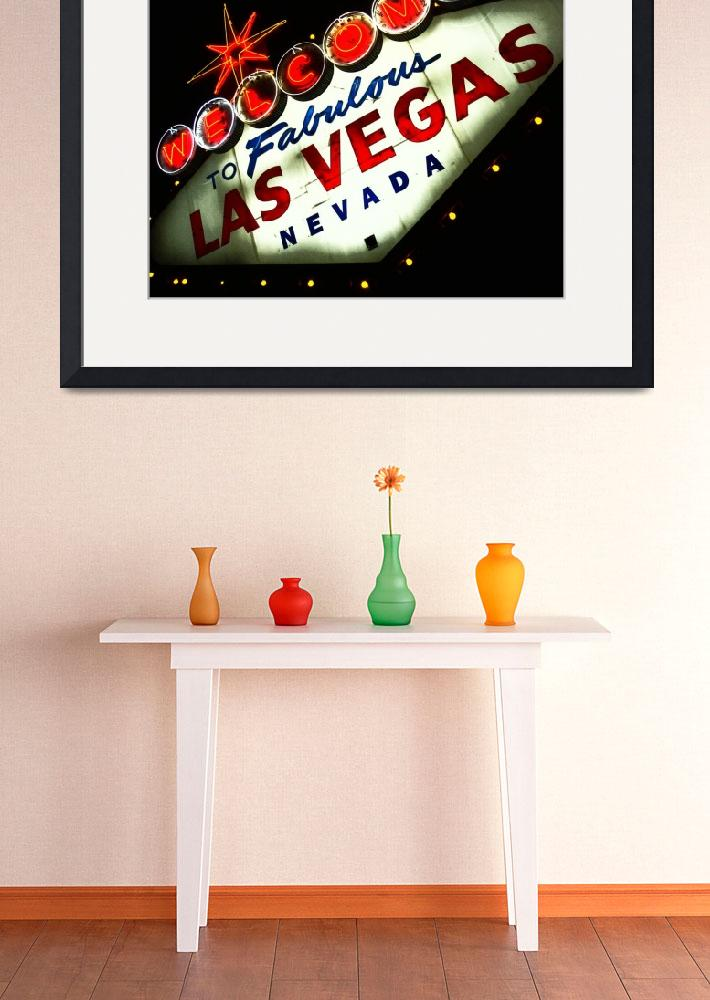 """Vegas Sign No. 3&quot  (2008) by PadgettGallery"