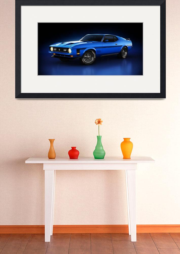 """Ford Mustang Mach 1 - Slipstream&quot  (2013) by themeco"