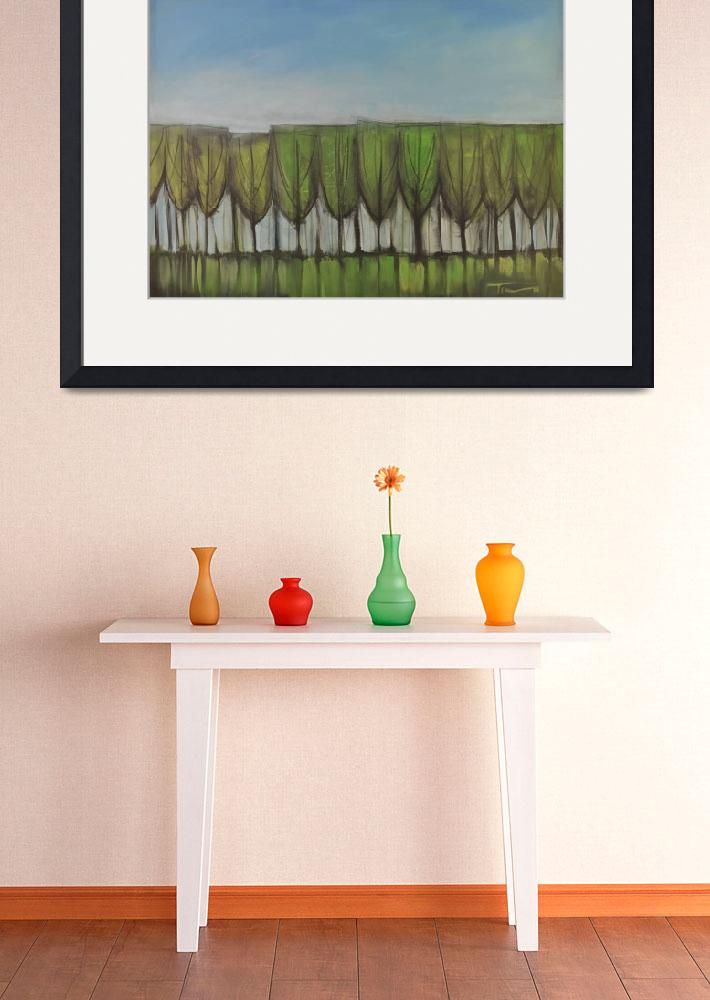 """Wineglass Treeline&quot  by artlicensing"