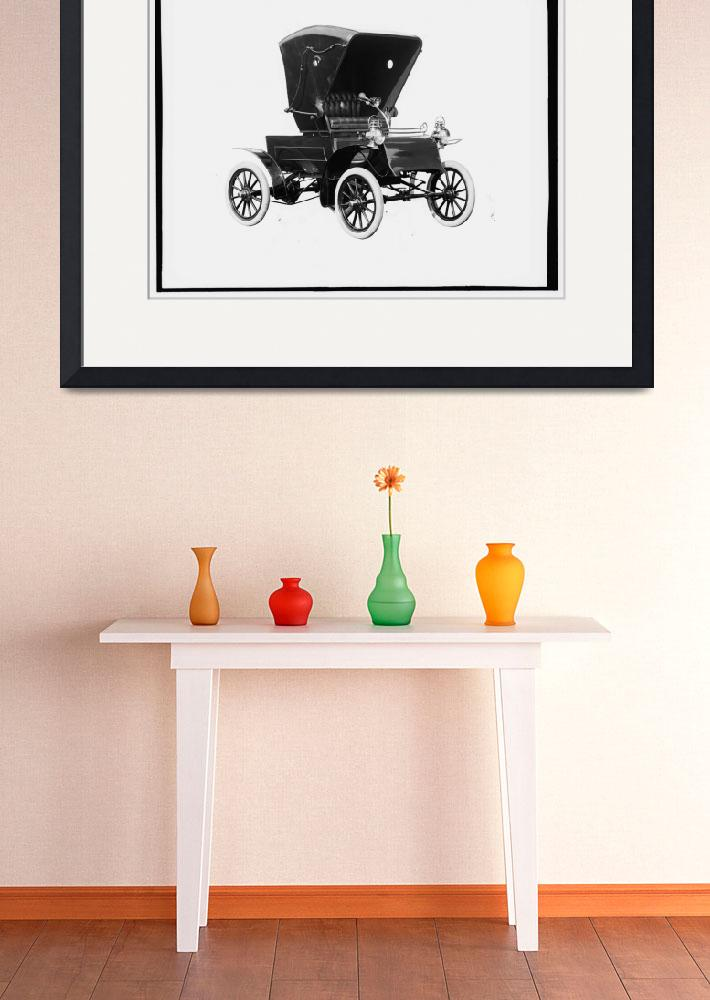 """1903 ANTIQUE AMERICAN CAR&quot  by homegear"