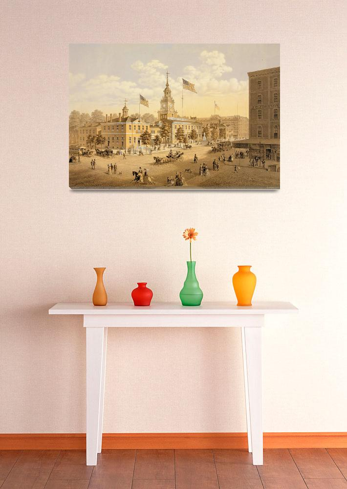 """INDEPENDENCE HALL&quot  by homegear"