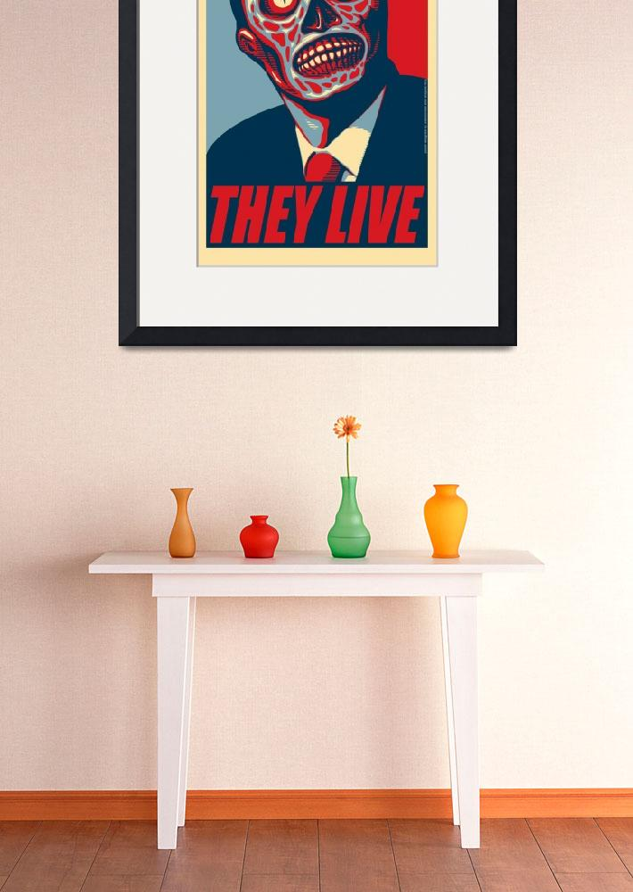 """They Live (prez)&quot  (2010) by swellzombie"