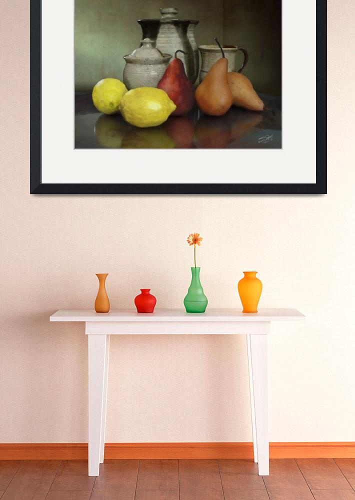 """Pears and Lemons&quot  (2014) by spadecaller"