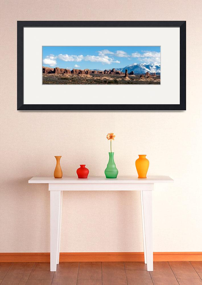 """Arches National Park Panorama&quot  (2011) by Lorraine_Sommer"