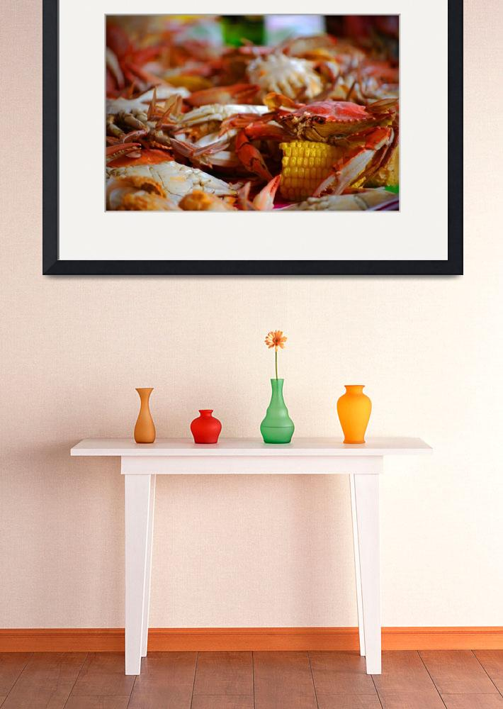 """Crab Boil&quot  (2010) by alenaimages"