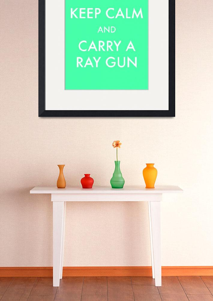 """rayguns aqua clean&quot  by TravisPitts"