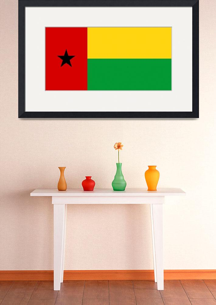 """Guinea-Bissau&quot  by tony4urban"