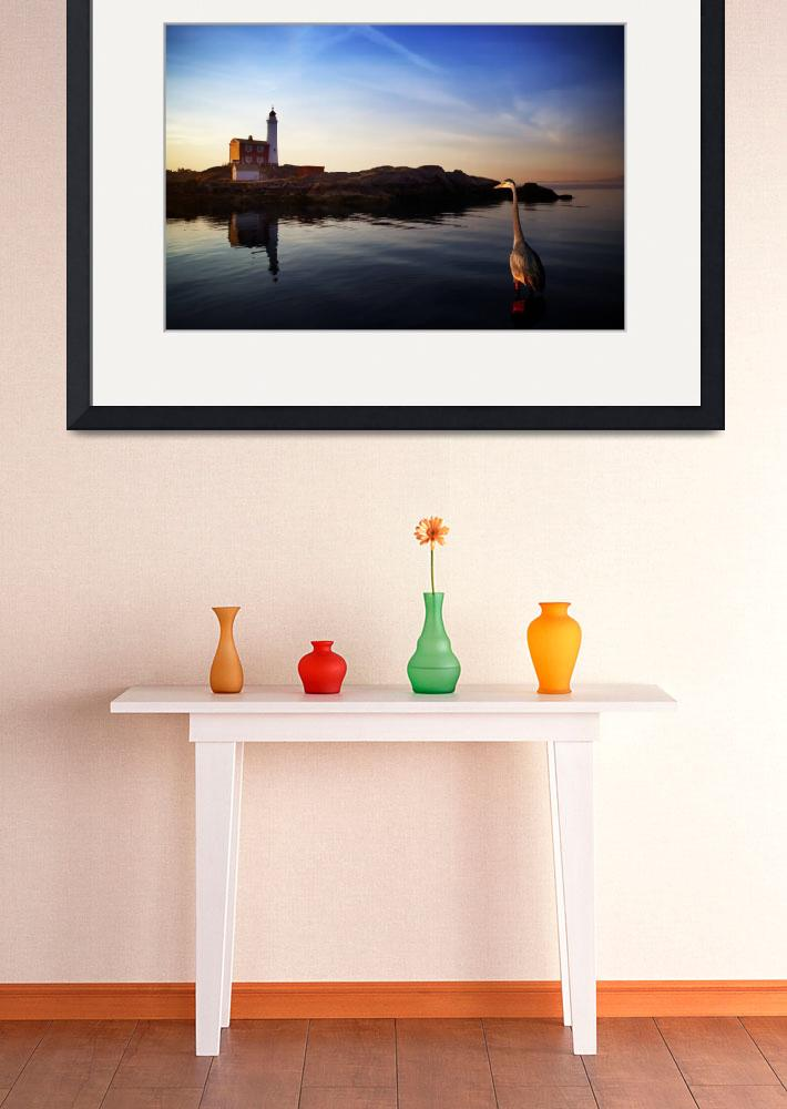 """Heron & Fisgard Lighthouse&quot  (2009) by spetter"