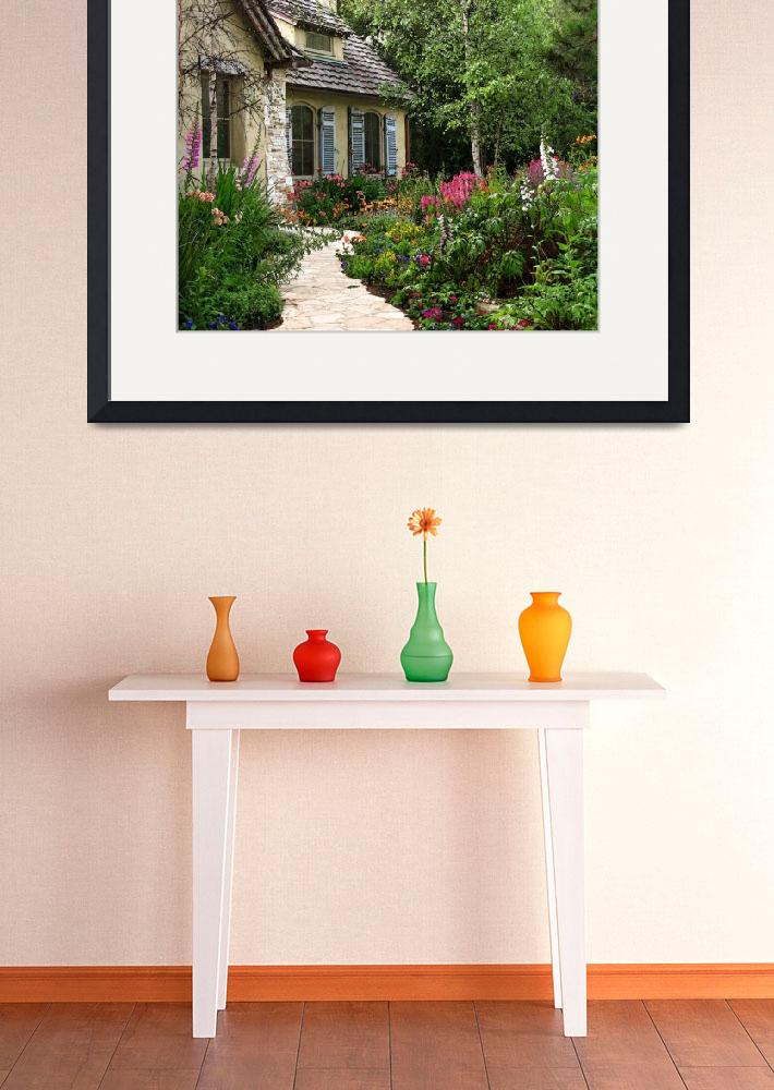 """The Fairytale Cottages of Carmel&quot  by LindaYvonne"