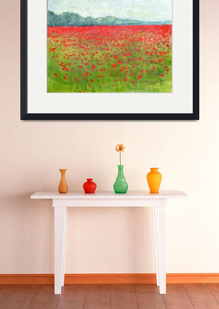 """Poppy Field&quot  (2010) by MPThorn"