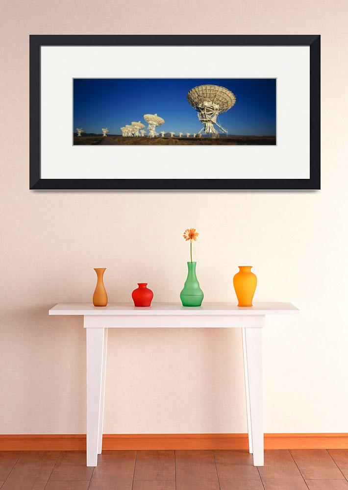 """Very Large Array&quot  by Panoramic_Images"