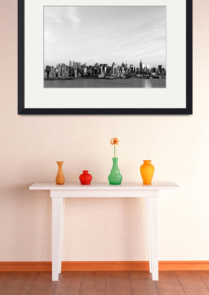 """New York Skyline&quot  by LocalStockPhoto"