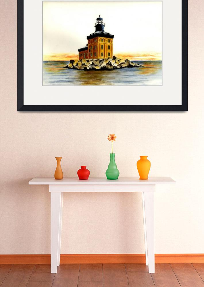 """Toledo Harbor Lighthouse&quot  (2003) by vigliotti"