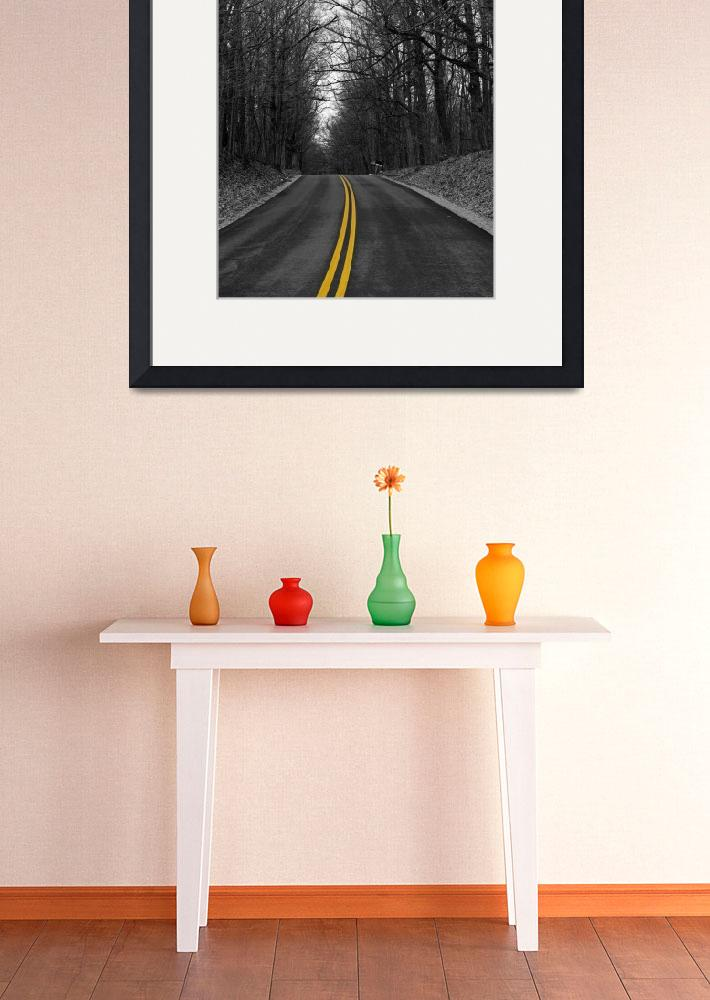 """Yellow Road&quot  (2008) by LeStro"