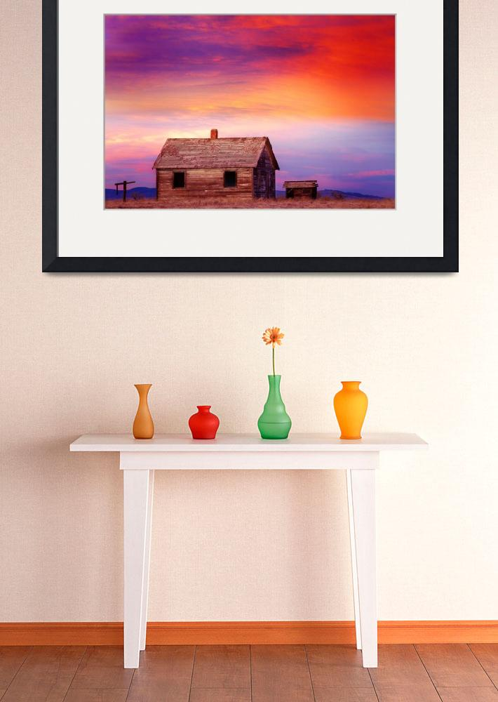 """Little House On The Prairie Colorful Colorado Coun&quot  (2012) by lightningman"
