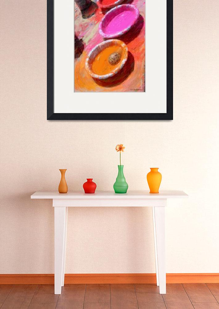 """Bowls of Color&quot  (2010) by RGMcmahon"