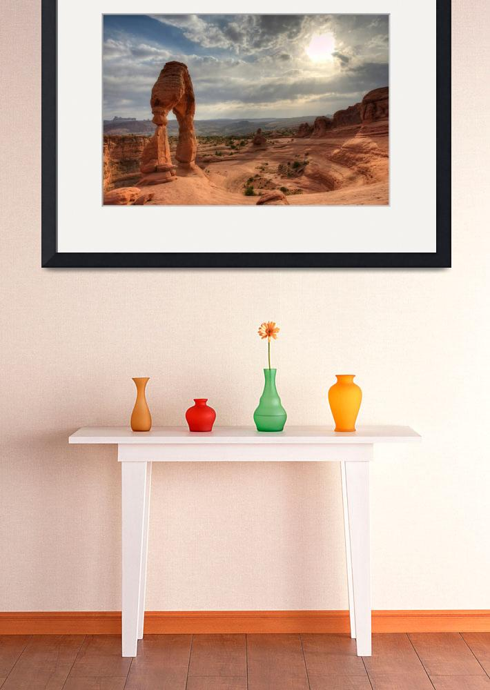 """Delicate Arch HDR&quot  (2012) by ChicagoPhotoShop"