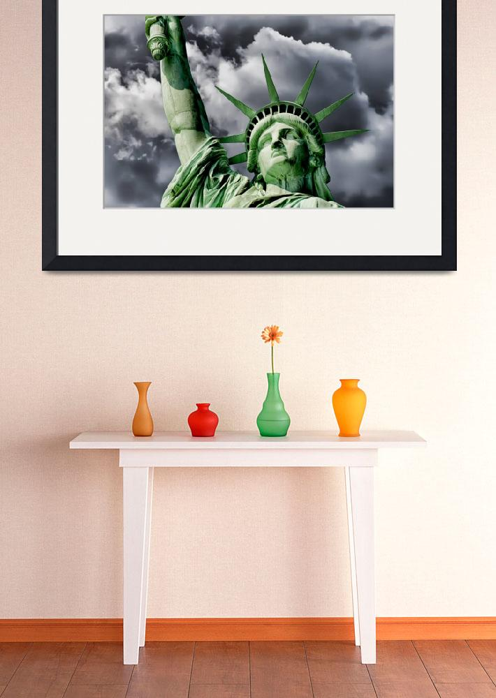 """Statue of Liberty&quot  (2009) by New-Yorkled"