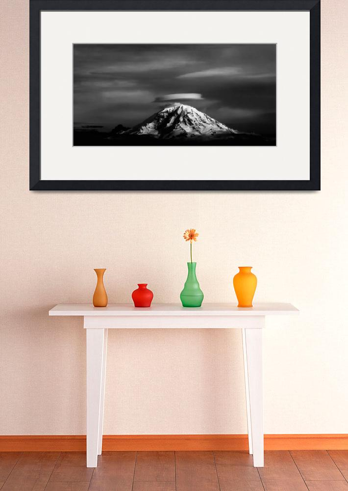 """Mount Rainer&quot  (2008) by frankacaba"