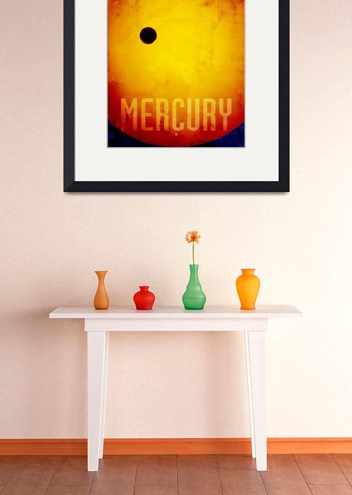 """The Planet Mercury&quot  (2011) by ModernArtPrints"