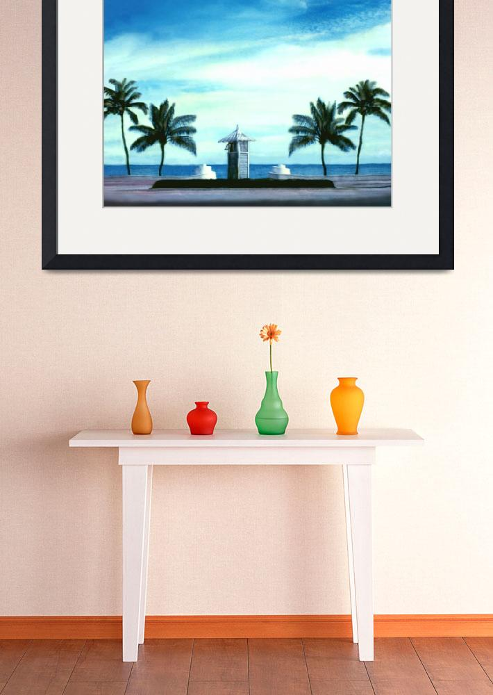 """My Front Yard, Ft Lauderdale Beach, FLorida&quot  (2002) by joegemignani"