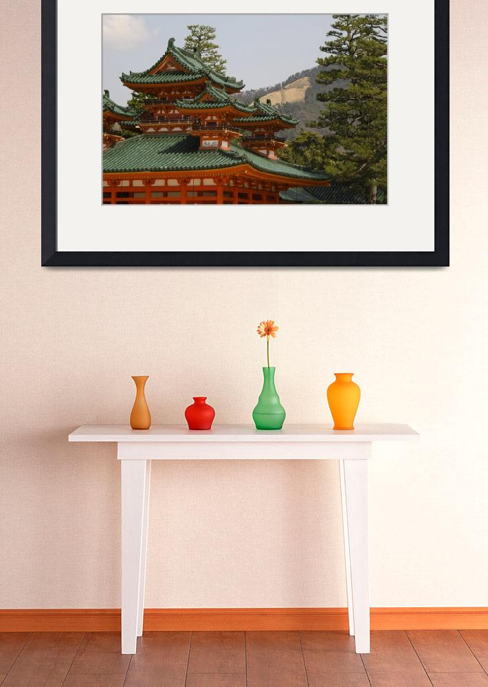 """Heian Jingu, Kyoto, Japan&quot  (2004) by beggs"
