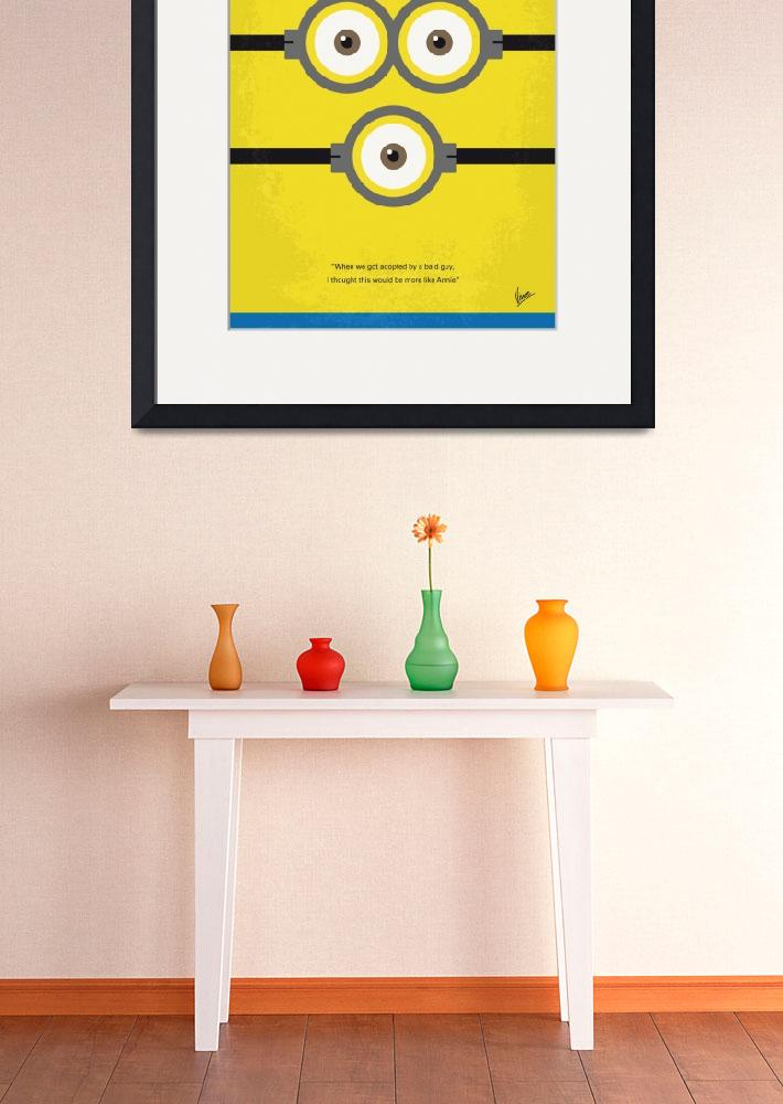 """No213 My Despicable me minimal movie poster&quot  by Chungkong"
