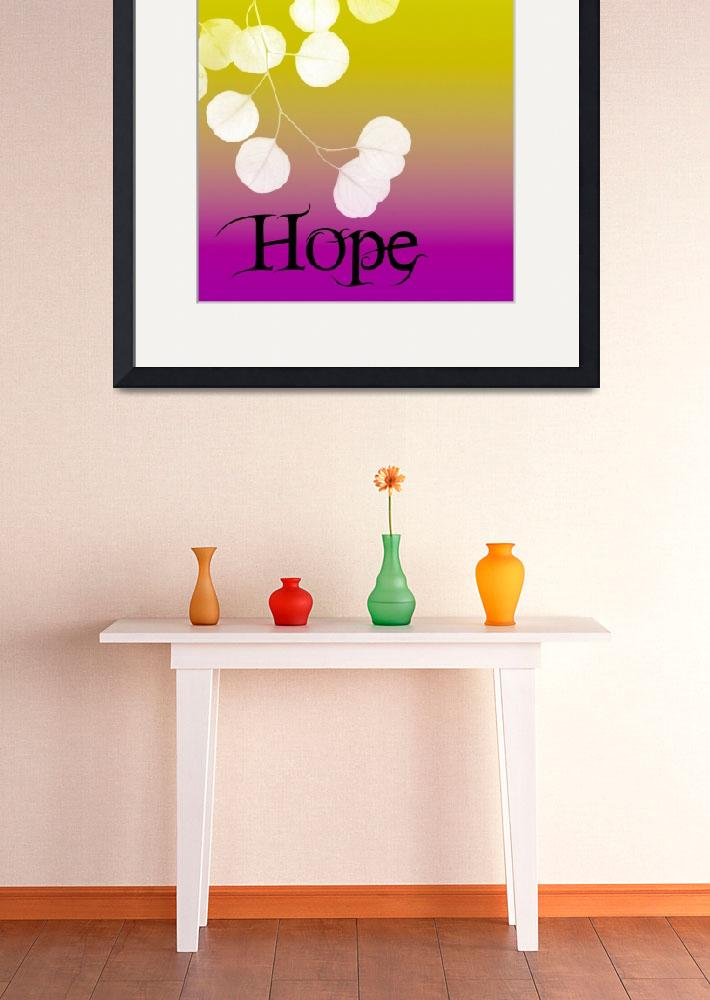 """Hope&quot  (2009) by rickimountain"
