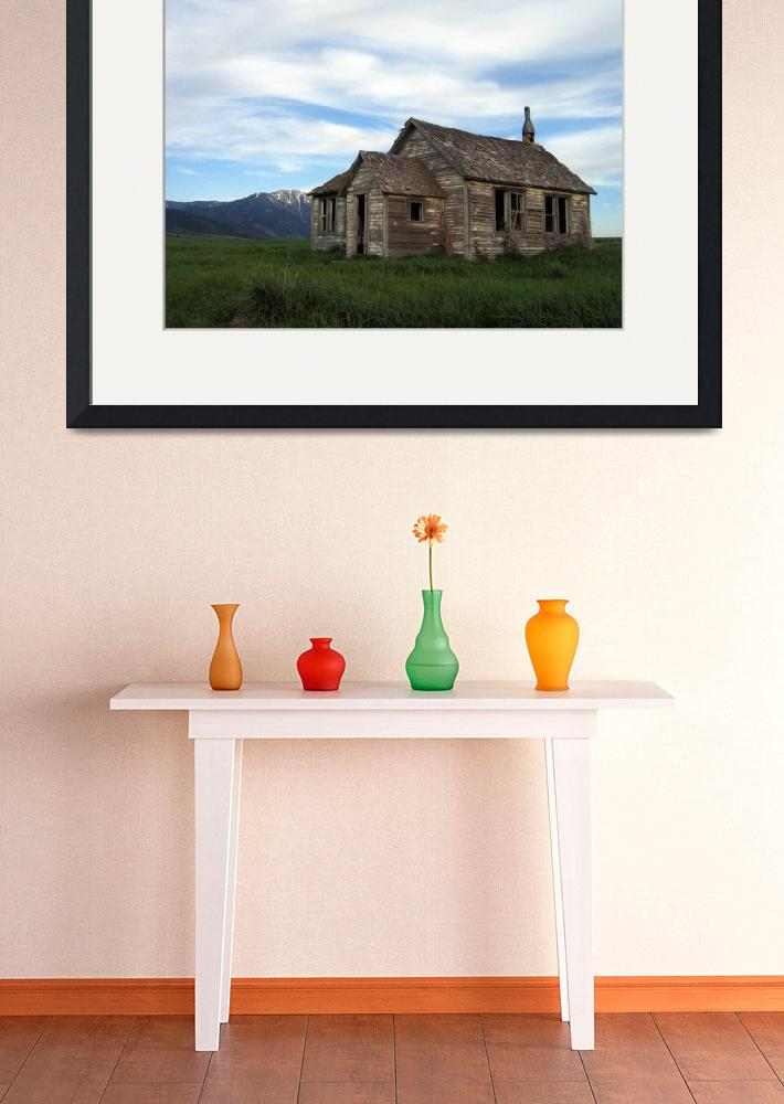 """Abandoned Building Idaho Plains&quot  (2008) by CrypticFragments"