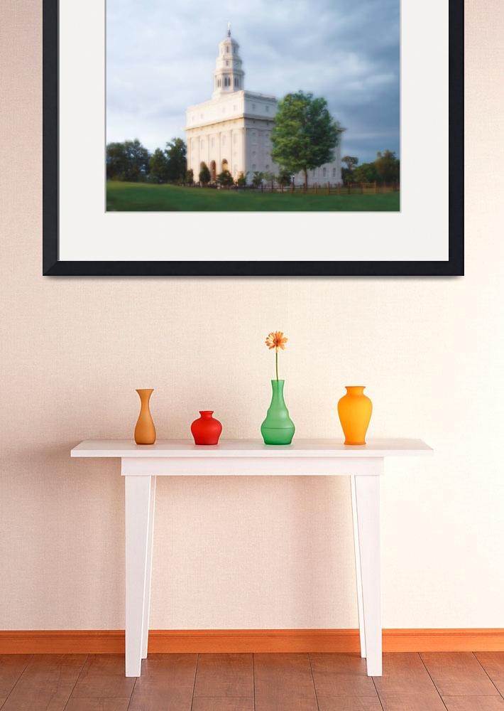 """Nauvoo Temple / Summer&quot  by TerrySpringer"