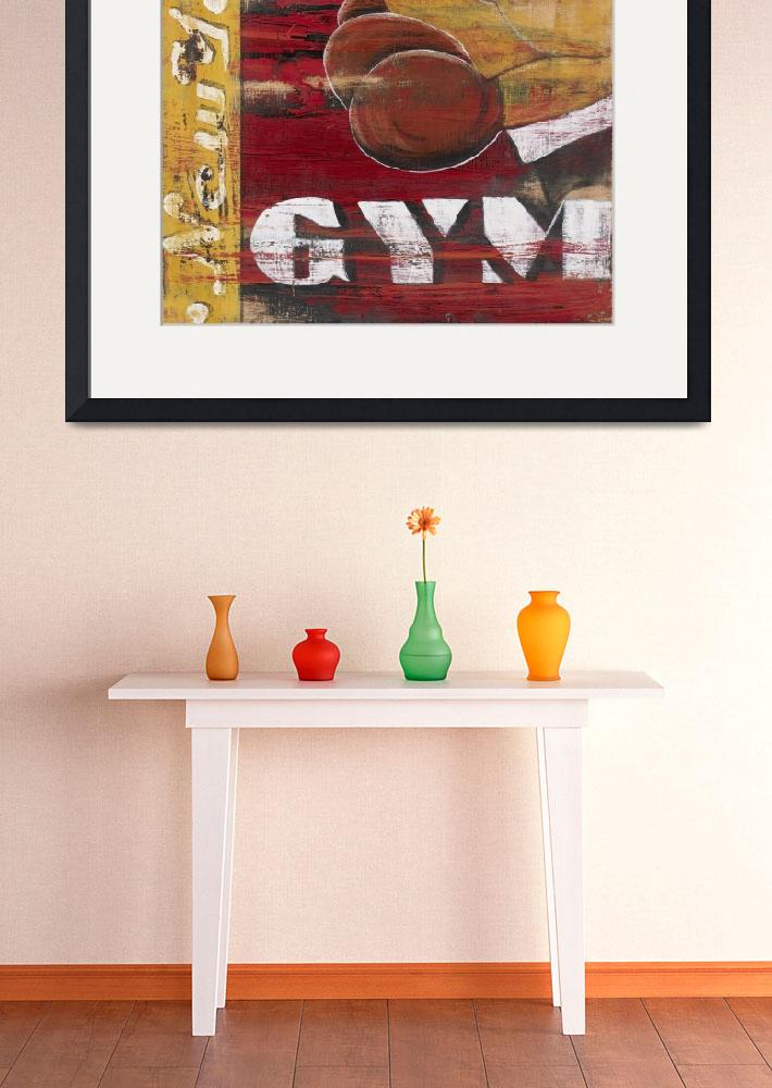 """New York Gym&quot  (2006) by ArtSmoothie"