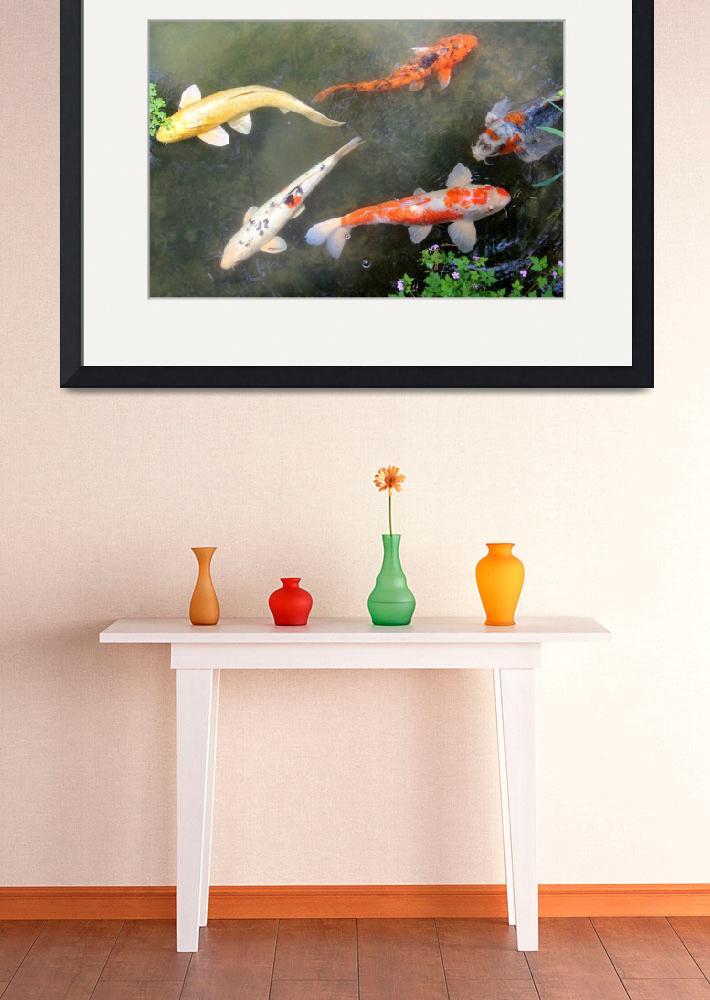 """Koi Fish&quot  (2014) by KsWorldArt"
