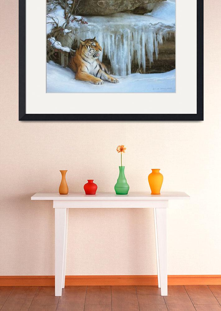 """ice cave / tiger&quot  (2011) by rchristophervest"